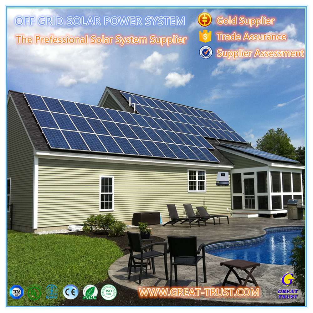 High efficiency 1kw,2kw,3kw,5kw,10kw,50kw,100kw,500kw 10000 w solar panel system 48 volt. 10 kw with low price