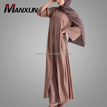 Islamic Clothing For Women Dubai Modest Muslim Abaya Adult Age Group Dress Wholesale