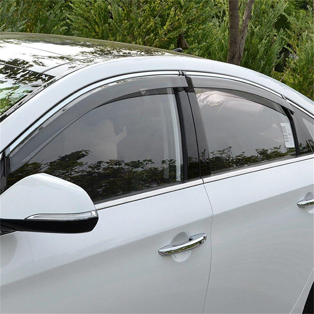 Buy Vesul Side Window Visor Rain Sun Deflectors Guard Vent