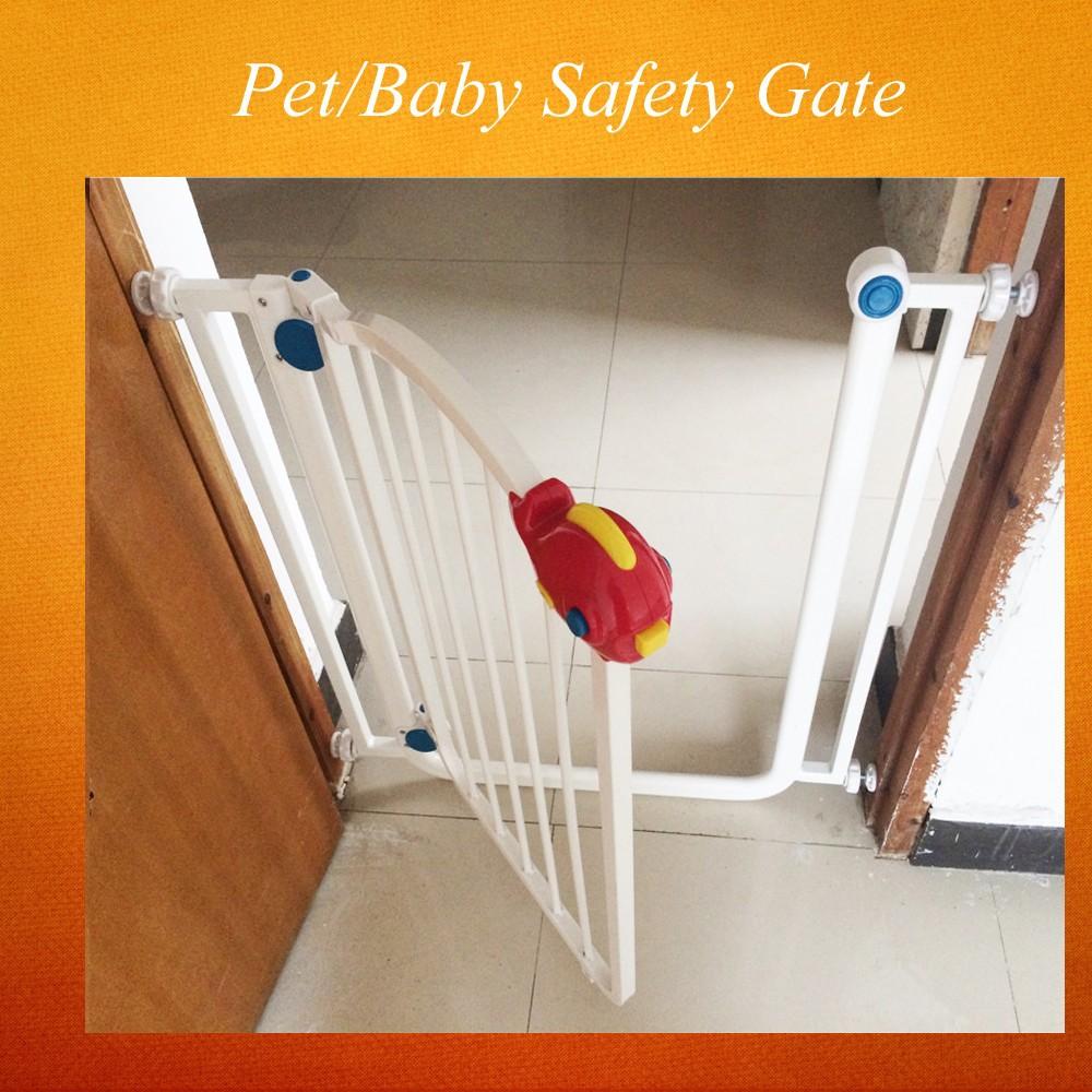 Baby veiligheid hek stalen deuren en trappen voor baby gate clxy ...