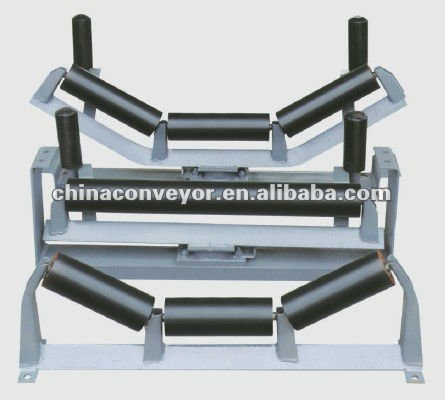 Mining conveyor frame,coal conveyor bracket,mineral conveyor roller frame