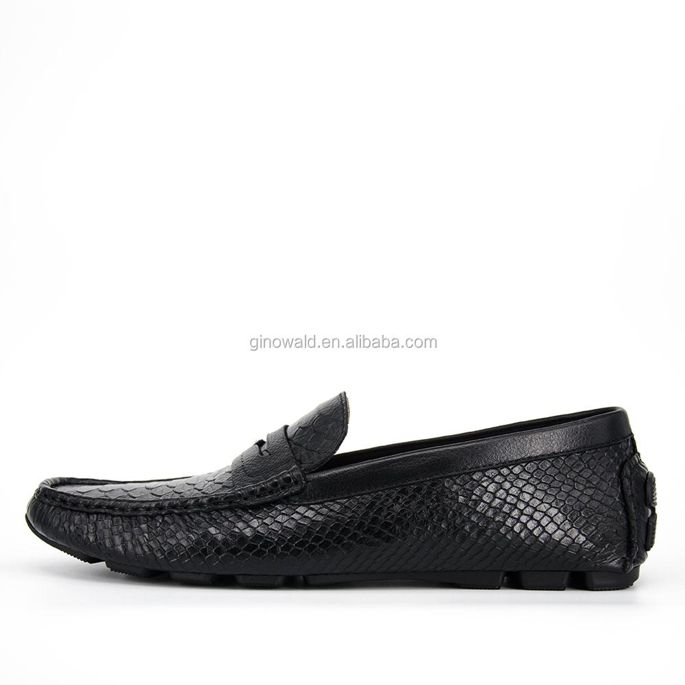 2017 embossing Snakeskin men leather shoes designer B5wB6nqrF8