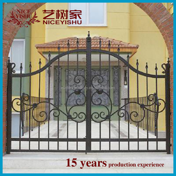 House Main Gate/iron Gate Grill Designs And Wrought Iron Component ...