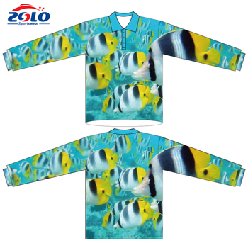 New design custom wholesale fishing clothes