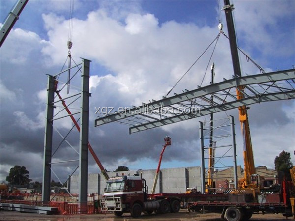 fast construction fast install steel structure workshop building