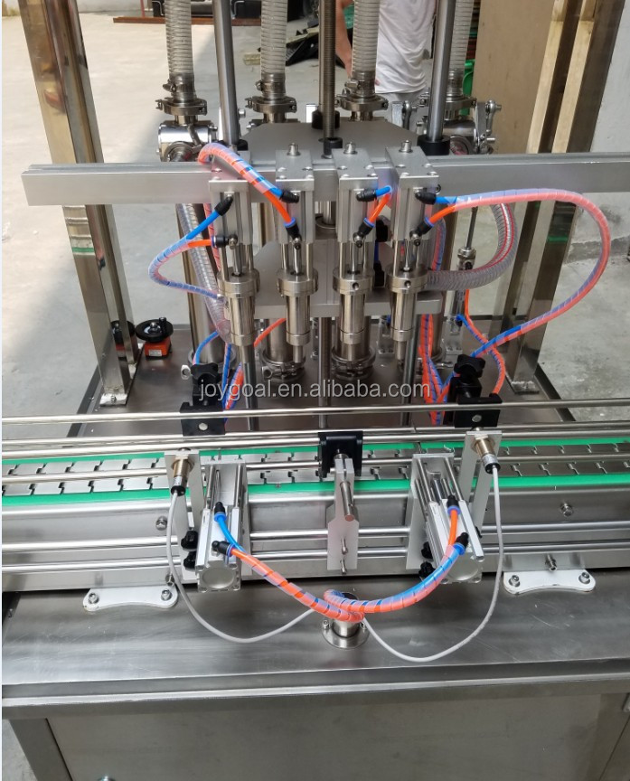For soymilk brevages water  bottles filling capping machine