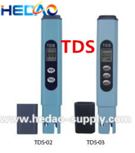 Hand hold tds meter water conductivity sensor