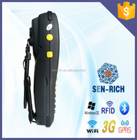 Handheld WinCE GPRS PDA Mobile Phone with RFID,Barcode Scanner,WIFI