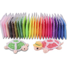 20g/bag Ultralight Pearl Clay 10Colors 3D Modeling Clay Snow Toy Kids DIY Intelligence Toys VBF93 P