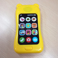 Hot Selling Educational Musical Plastic Toy Mobile Phone for Kids
