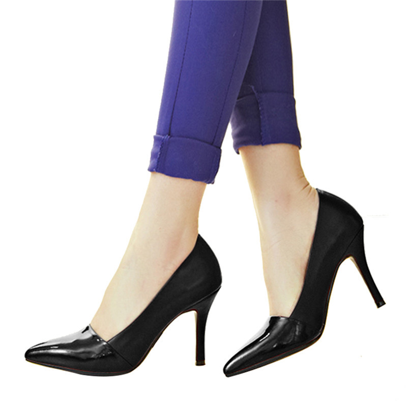 a245d386b43 Women Ladies Close Toe Red Black Patent Leather Dress Shoes High Heel Pumps  - Buy Women Dress Shoe,Ladies Dress Shoes,Italian Dress Shoes Product on ...