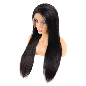 Wholesale 13x6 Unprocessed Raw Remy Virgin Cuticle Aligned Peruvian Human Hair Transparent Swiss Lace Front Frontal Wigs