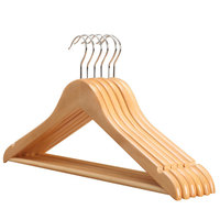 Cheap factory price coat hanger for clothes antique wooden hangers wholesale