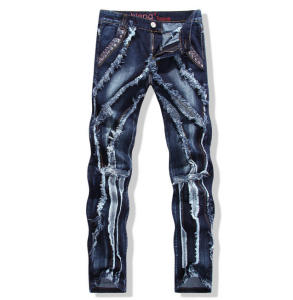man skinny jean men's trousers and denim jeans pants