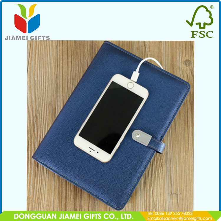 New arrival notebook with usb and power bank China manufacturer