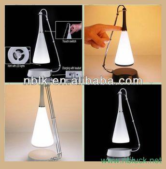 Touch Sensor Led Table Lamp With Mini Speaker