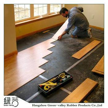Noise Insulating Carpet Cork Underlayment For Wooden Laminate Floor