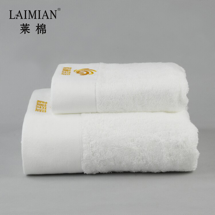 Wholesale terry hand towels customised embroidery blanks towels with logo