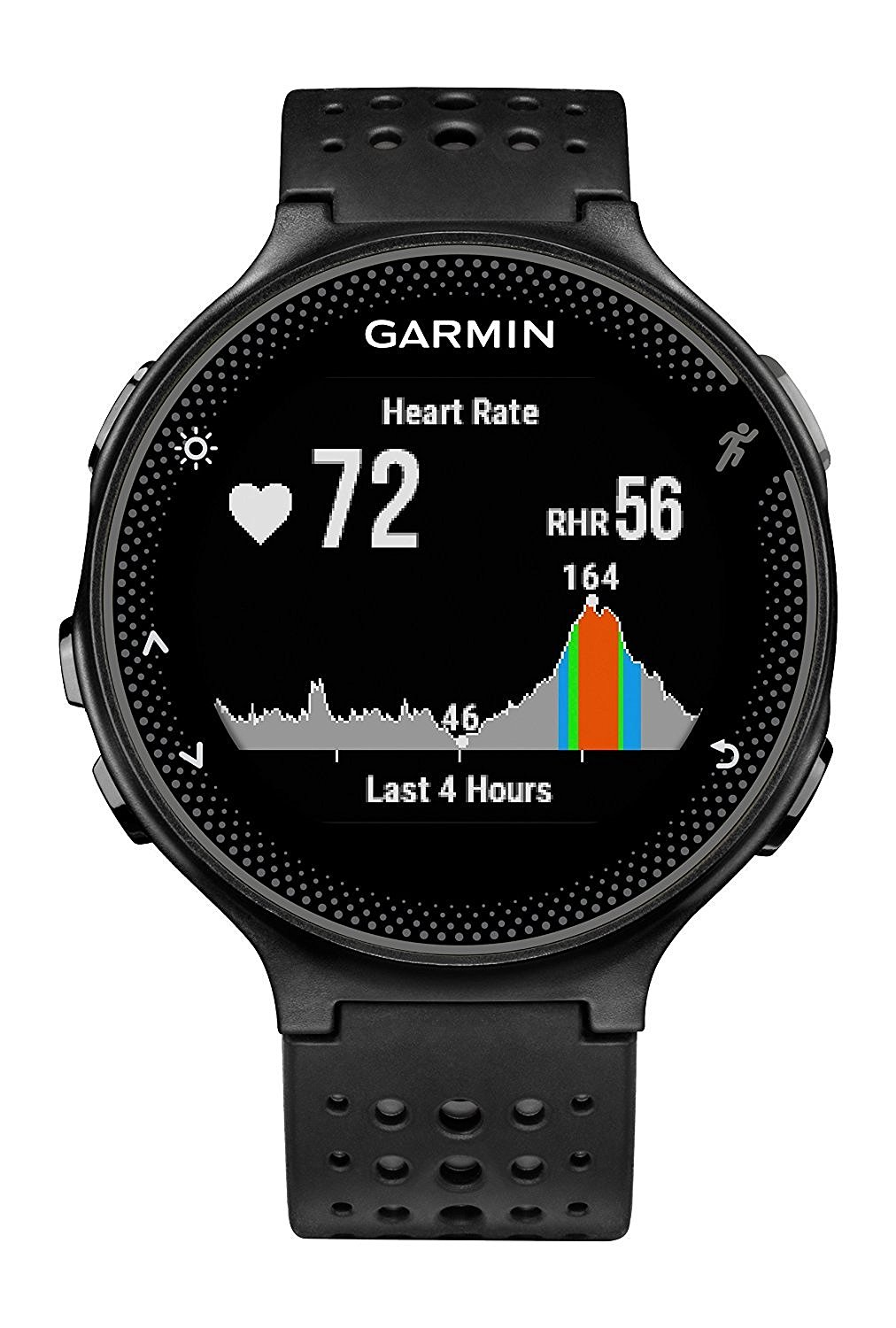 Garmin Forerunner 235 Wrist-Based Heart Rate GPS Running Watch (grey)