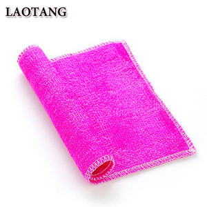 Customized eco friendly natural kitchen wipe dish cloth