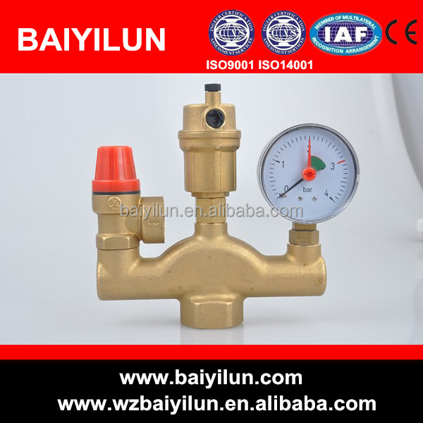 boiler parts brass safety valve