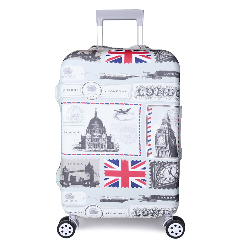 Travel Luggage Covers fit most 18-32 inch,Printing Suitcase Protector Spandex and polyester Protectors Color : Picture5 , Size : S-150g