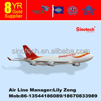 shipping price to Bogota Colombia by Air -add skype: sinotech021