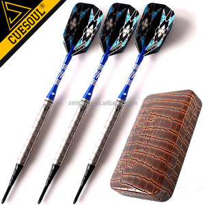 CUESOUL Soft Tip Dart Set,Electronic Dartboard Darts Professional Tungsten Barrel