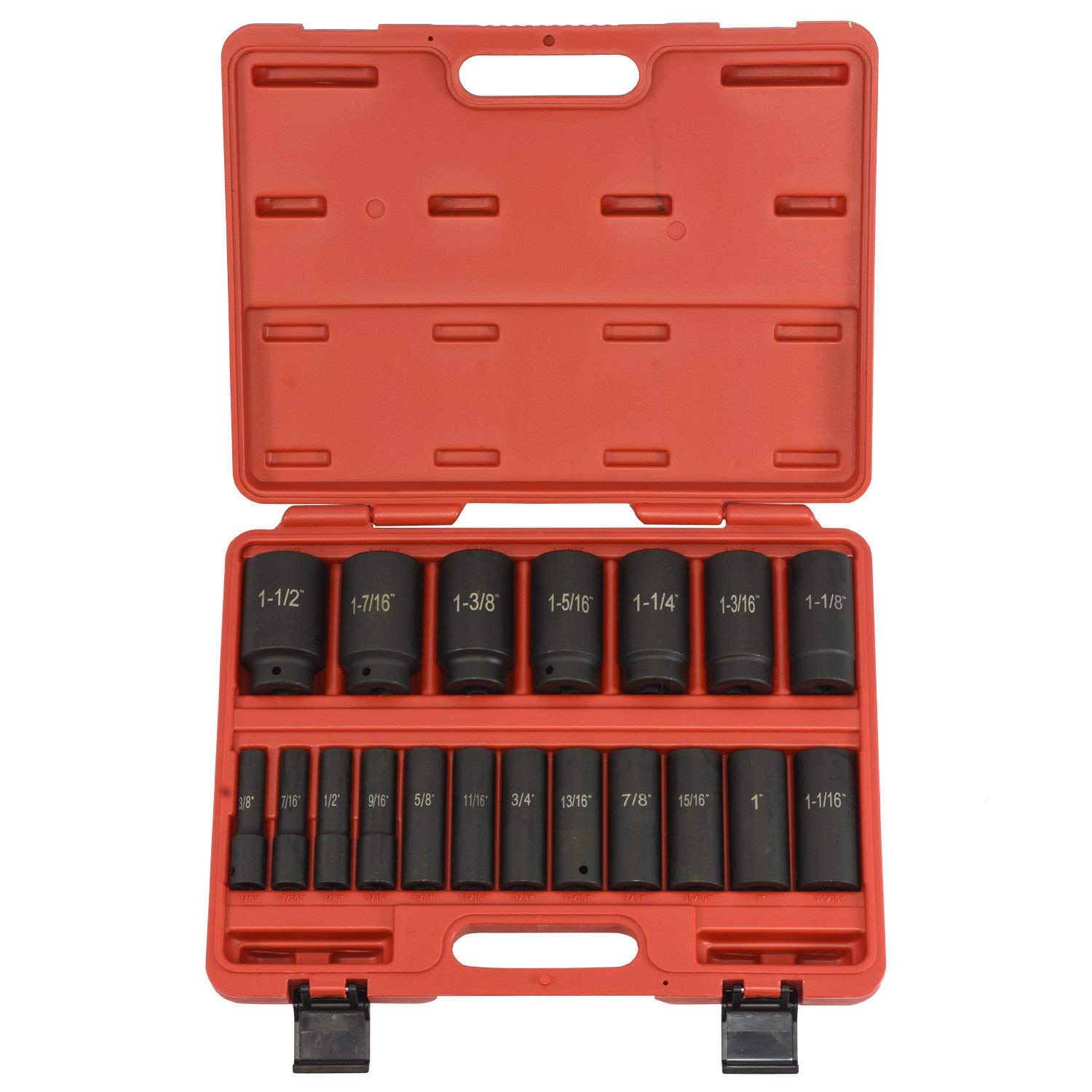 "1/2"" Drive Deep Impact Sockets 
