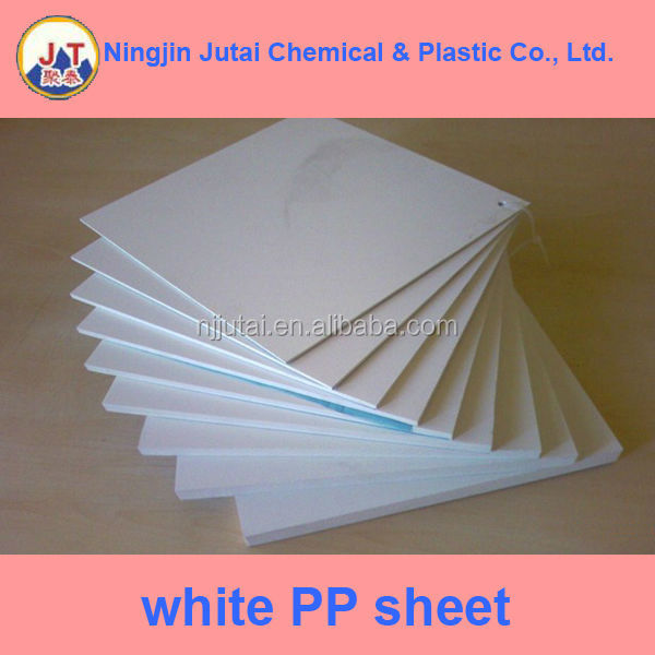 cheap quality pearl white pp board