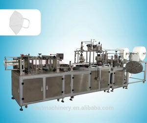 Chinese supplier high precision dust fully automatic folding disposable mask machine