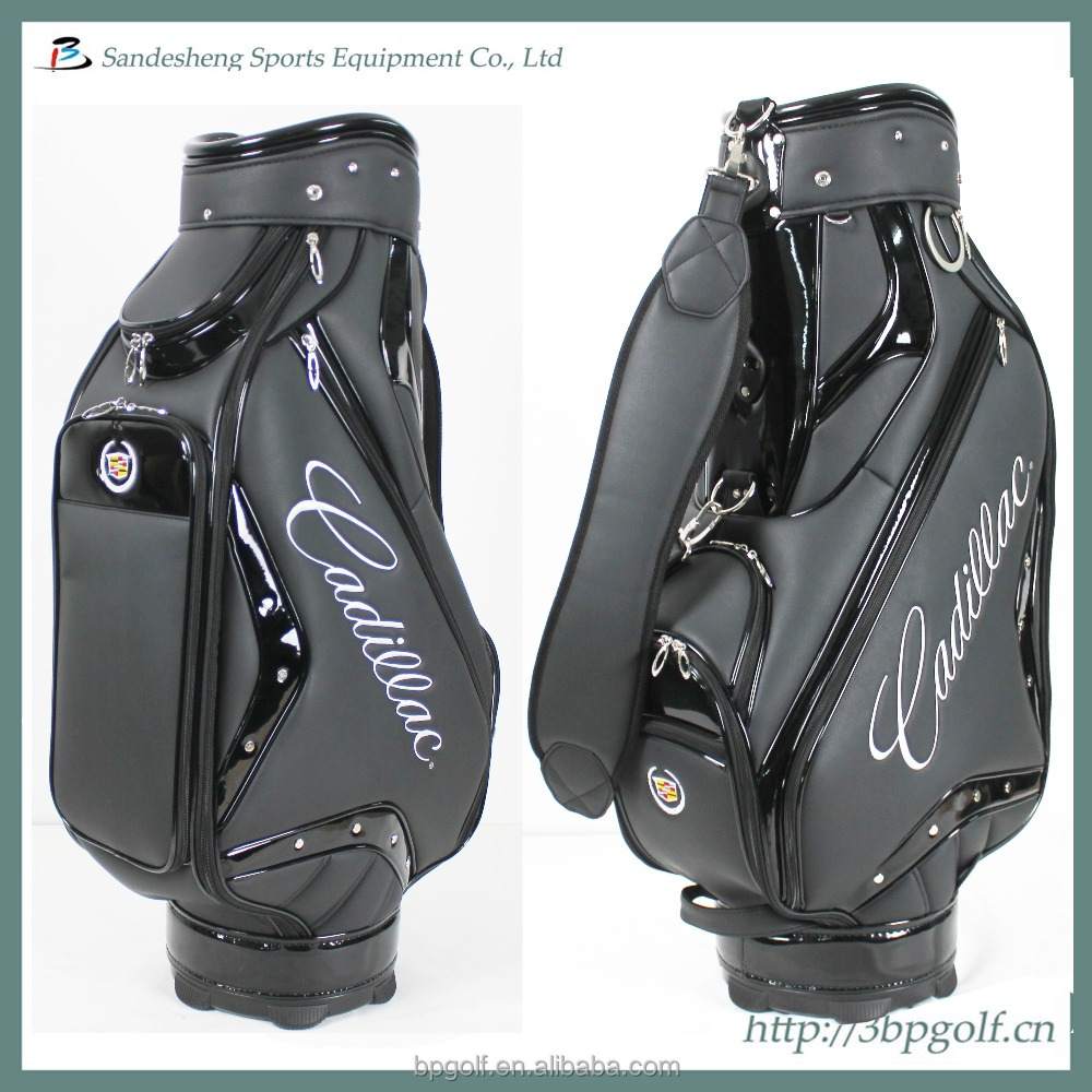 Plain custom golf staff bags