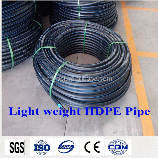 pe 100 pe 80 hdpe water pipes