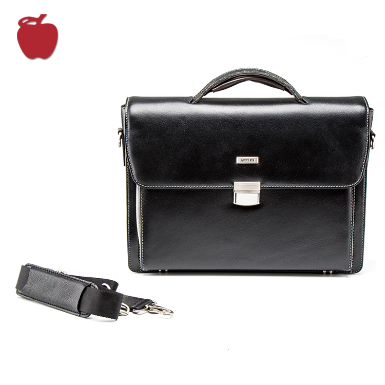 Mens Genuine Leather Briefcase Handbag Laptop Bags For Men