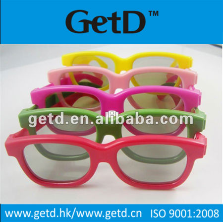 Circular Polarized 3D Glasses for RealD, Master Image 3D Cinemas and LG/JVC/SKYWORTH 3D TV