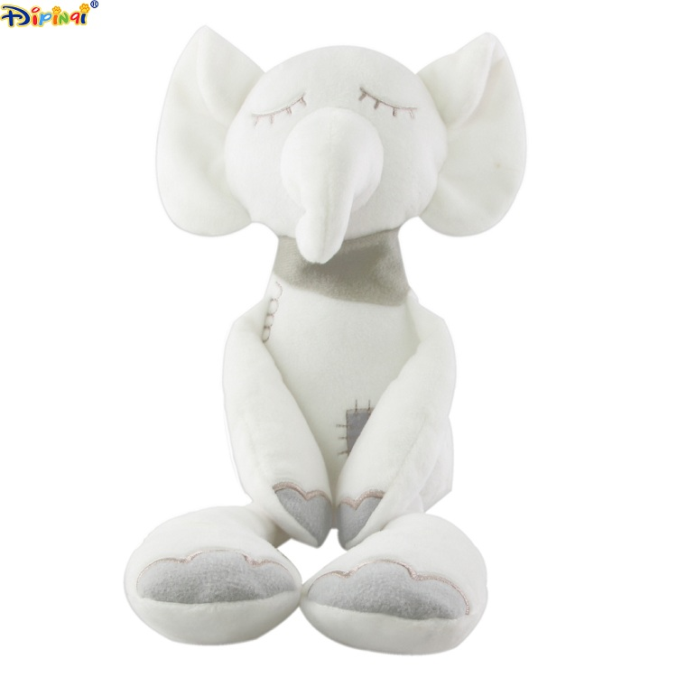 Aipinqi #7237A Elephant plush love <strong>doll</strong> toy ,white elephant <strong>doll</strong> ,stuffed plush <strong>doll</strong>