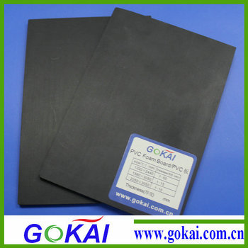 China Producs Pvc Sheets Black Pvc Foam Board Plastic