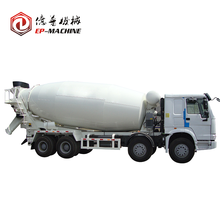 NISSAN adopt pressed steel concrete mixer truck 8x4 for sale