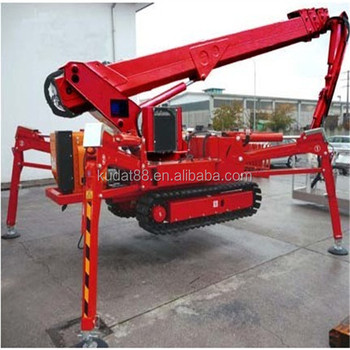 Spider Boom Lift(36m Crawler Telescopic Boom Lift,Diesel Or Electric Spider  Lift) - Buy Spider Boom Lift,Diesel Spider Boom Lift,China Diesel Spider