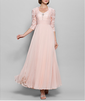 71ecc595ea7 Bohemian style vintage mother of the bride lace dress beach wedding dresses