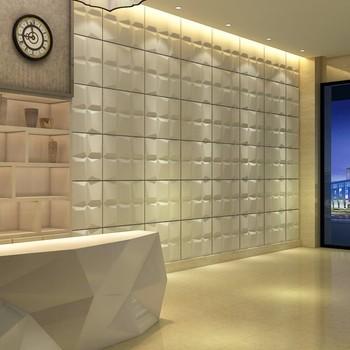 3d Wave Effect Bathroom Pvc Wall Panels