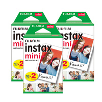 Credit-Card Size fujifilm instax film mini film white frame twin pack instant film