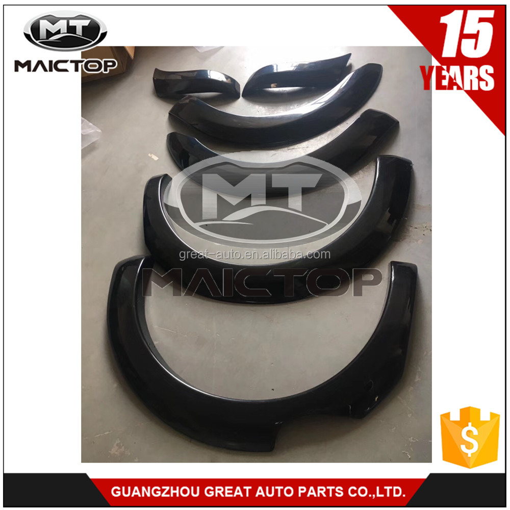 OE style fender flares wheel arch for ford ranger T7 2016