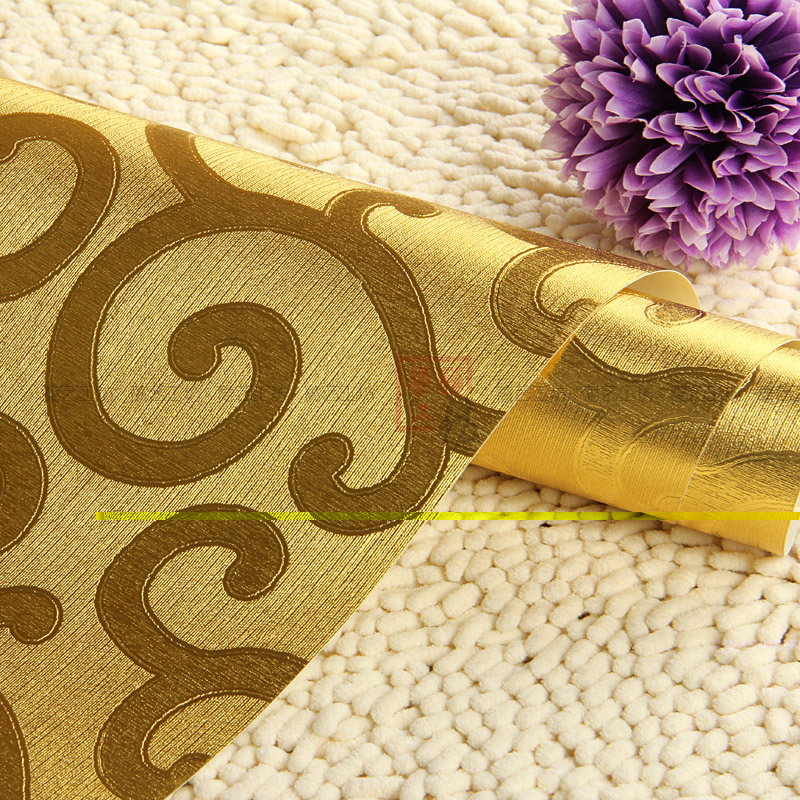 goldenen tapeten kaufen billiggoldenen tapeten partien aus china goldenen tapeten lieferanten. Black Bedroom Furniture Sets. Home Design Ideas