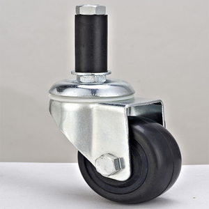 JY-304EB | Durable ESD wheel Insert stem universal caster for anti static workshop