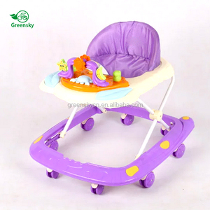 2017 Wholesale baby walker with 8 swivel wheels modern Baby walker in europe