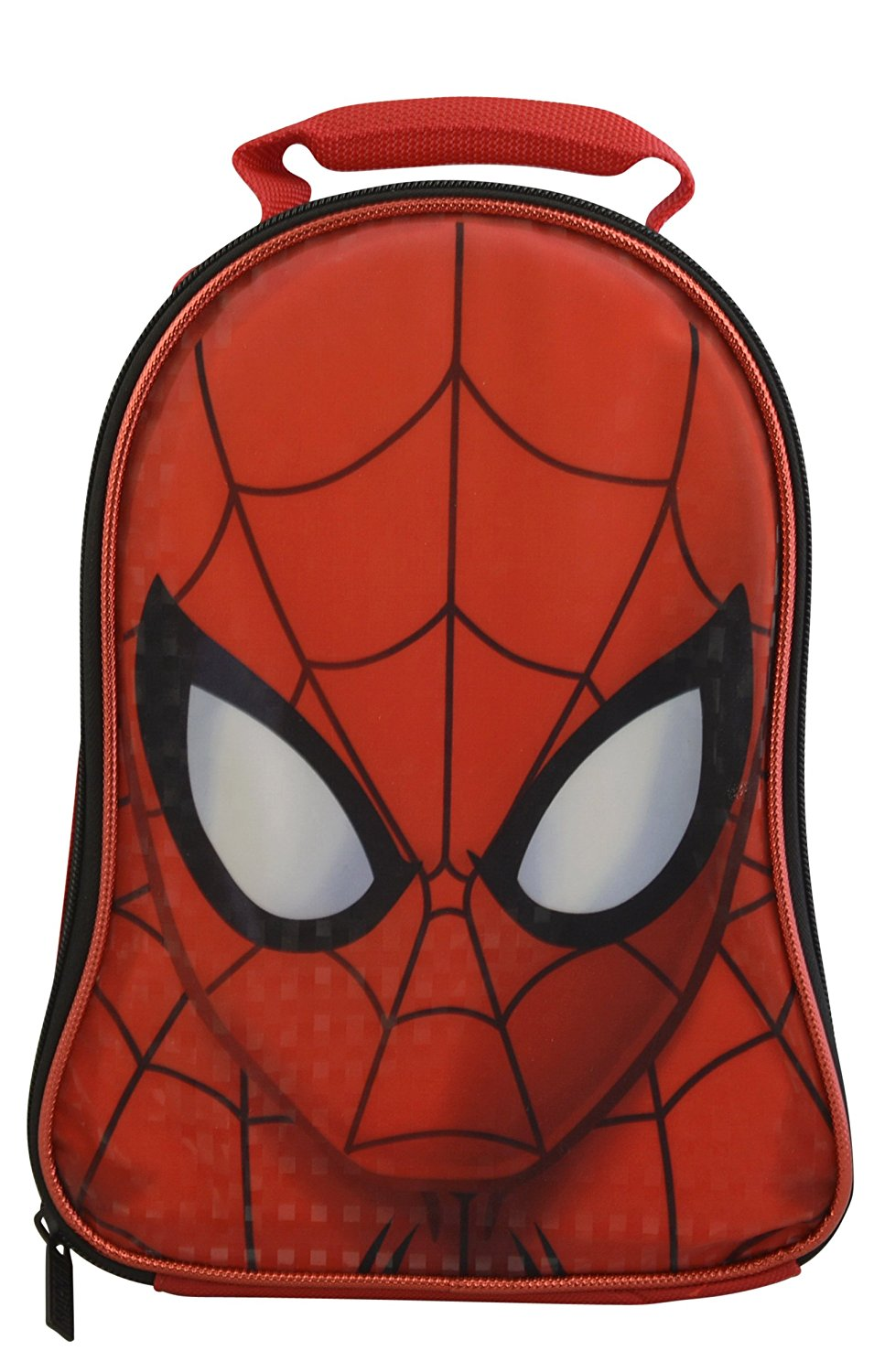 Marvel Avengers Spiderman Civil War Superheroes Boys' Insulated Lunchbox Lunch Kit (Spiderman)