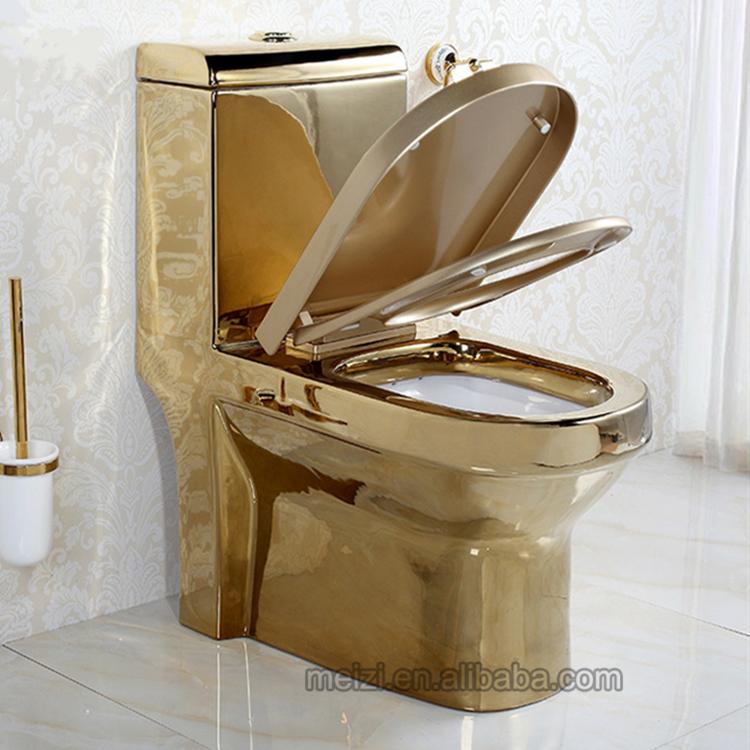 الفاخرة تصميم قطعة واحدة سعر الذهب المرحاض ماليزيا