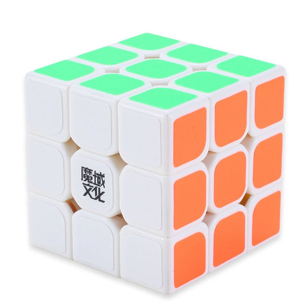 Cuberspeed Moyu Hualong 3x3 white magic cube 3x3x3 speed cube puzzle