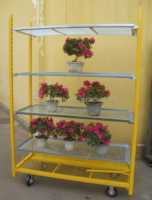 Display cart.Danish Trolley.Gardening Transport Cart, Steel Rolling Trolley Tool cart.